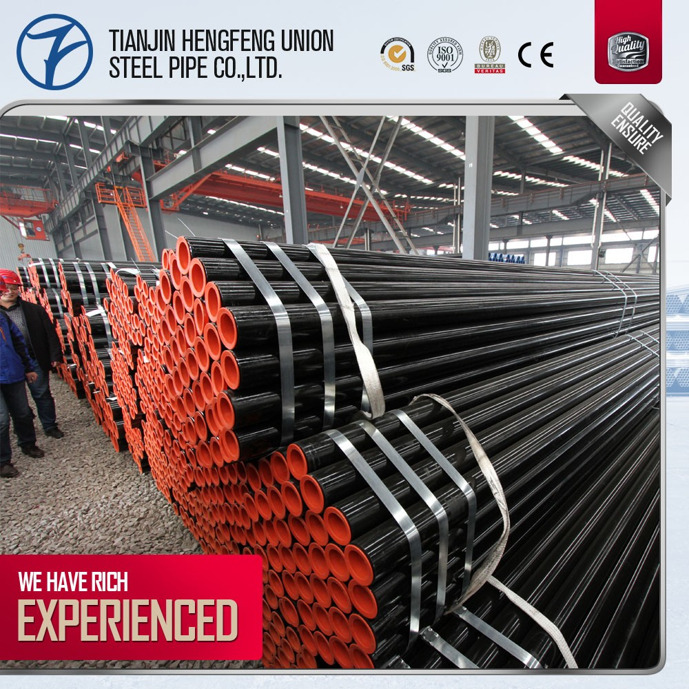 high-precision quality round seamless steel pipe