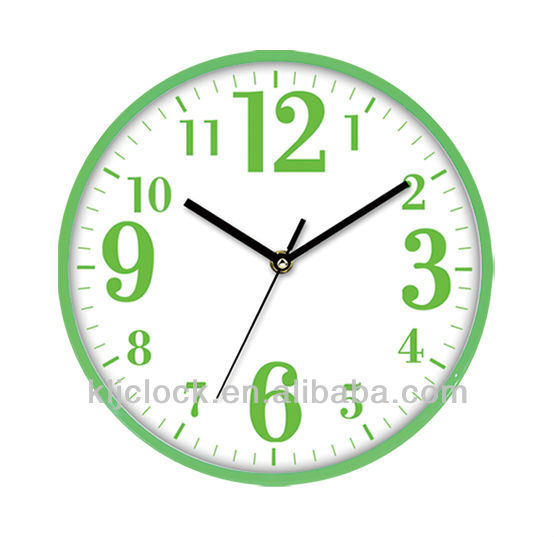 Promotional Wall Clock WH-6748 Kid Room Wall Clock With Special Design Clock Dials