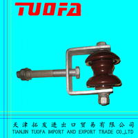 electric galvanized clamp bracket/adjustable galvanized d shackles for electrical line accessories