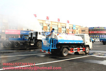 FOTON 4x2 water tank truck 4 to 5 ton water truck for sale