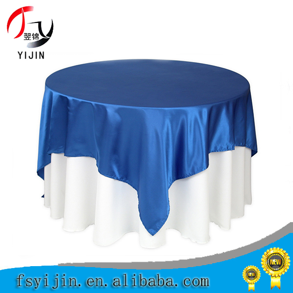 Wholesale decorative 100% polyester sequin table cloth for wedding/hotel