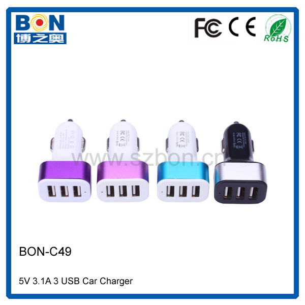 On sale portable car charger 5v 2a electric child custom usb car charger