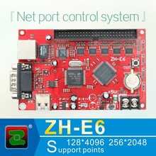 Zhonghang network port led screen module p10 advertising led display screen module control card ZH-E6