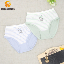 Wholesale custom design your own cheap girls cotton fabric for underwear