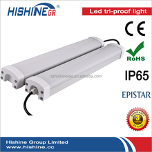 LED Tri proof light 60watt energy saving waterproof batten fitting