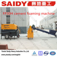FP30H cement foaming machineclc light weight bricks making machinery using brick mould