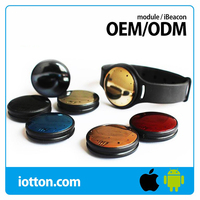 Bluetooth BLE Beacon silicon wristband compatible with iBeacon
