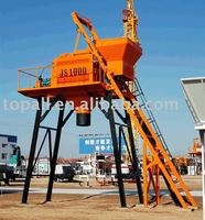 Containerized Export Rwanda Market JS1000 Electric Concrete Mixer