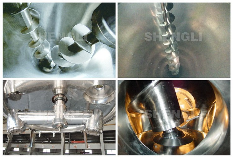 Conical screw mixer, chemical blender