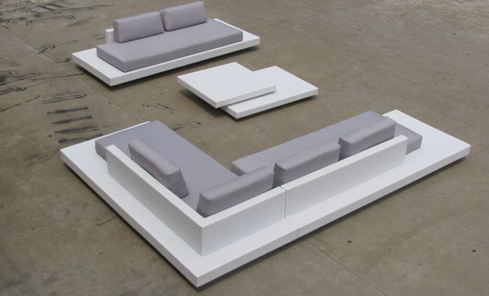 Meubl de jardin luxury modern furniture wintech wicker - Sofa para jardin ...