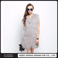 Special Design Wool Whole Skin Fur Coat