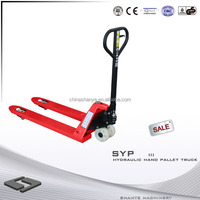 Hot Sale SHANYE mini hand pallet truck pallet truckload