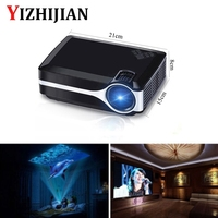 1500 lumens lcd mini projector multimedia home theater video projector