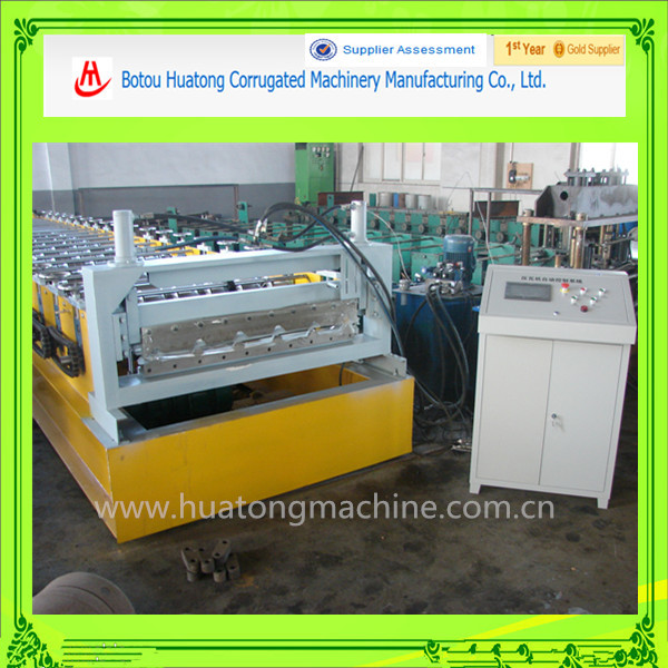 Color steel Metal Roof tile roll forming machine