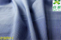 cotton/nylon/spandex yarn dyed stripe shirt fabric