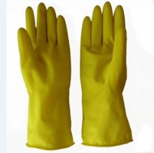 Chemical resistant gloves industrial heavy duty rubber cleaning latex gloves