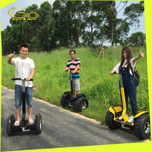 72v 14ah Electric chariot style self balancing electric foot pedal scooter