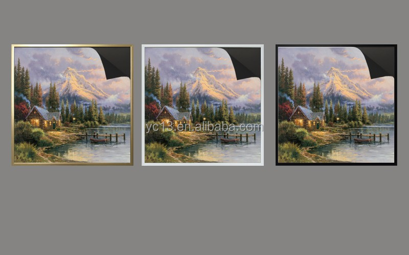 print picture Thomas kinkaides 1013-172 magnetic paintings with magnetic frame