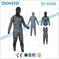 High quality 3/5mm commercial spearfishing camouflage wetsuit