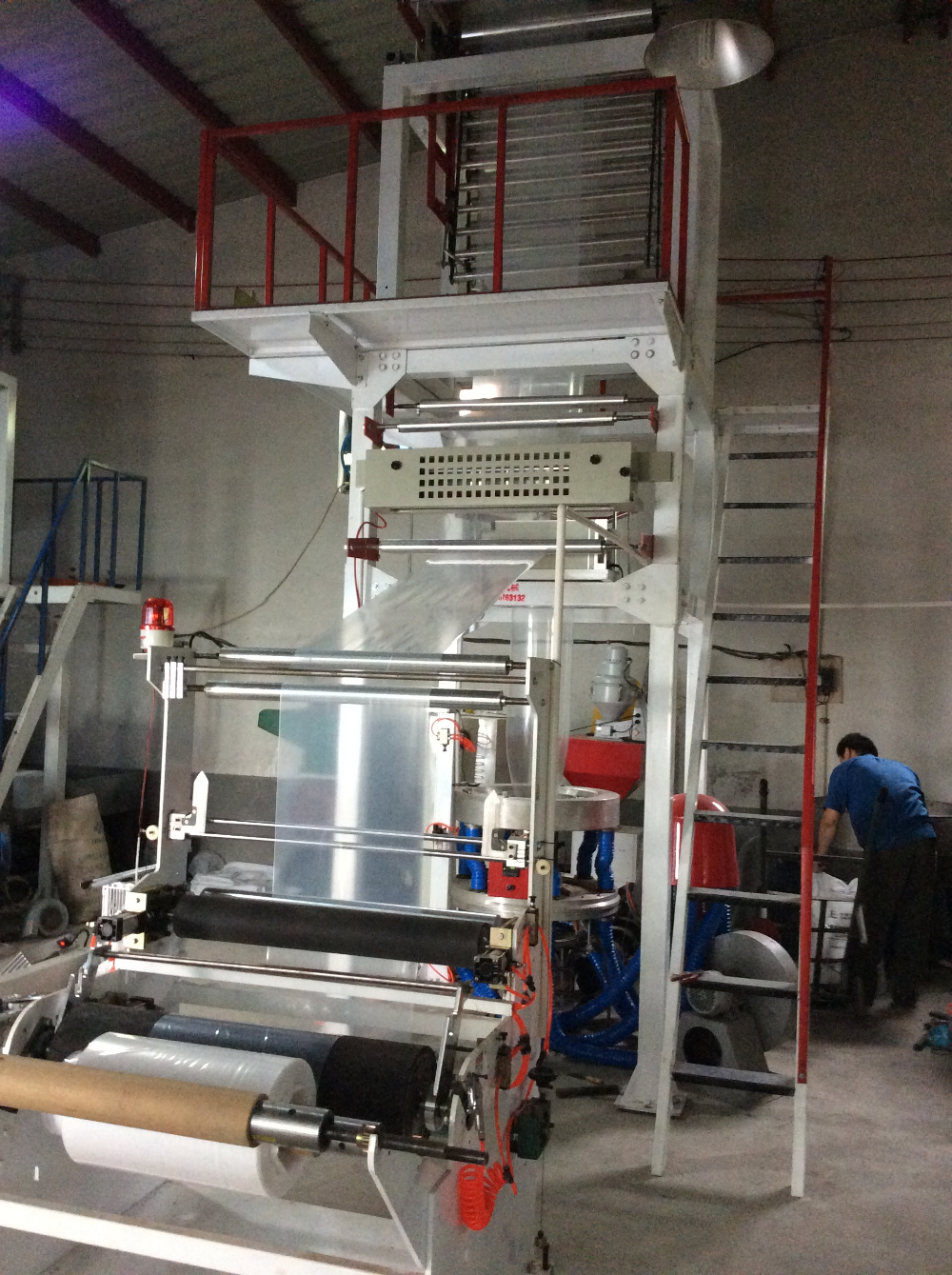 (HDPE/LDPE) High Speed Plastic Film Blowing Machine Price