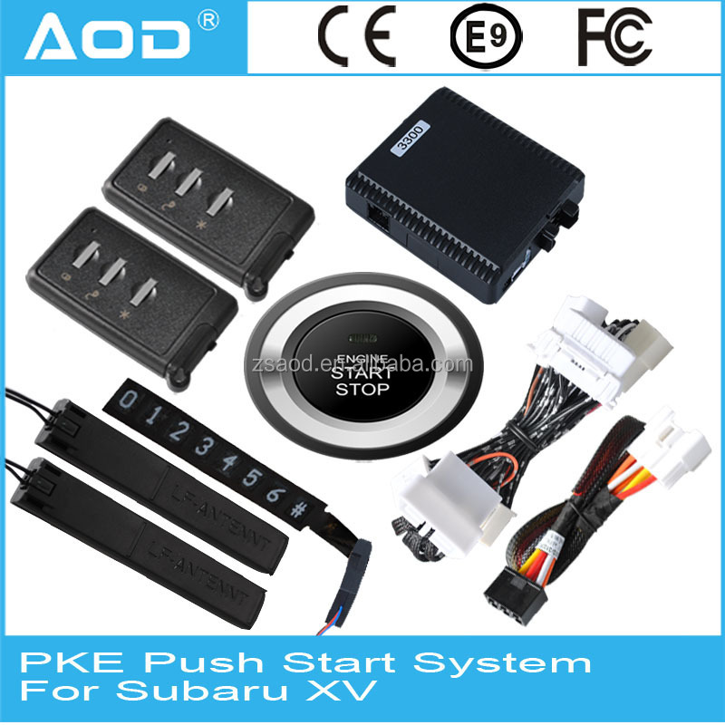 For Subaru XV 2015 engine start stop remote system