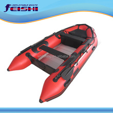 China Factory PVC Newest Speed Boat with Boat Motors in Germany