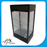 Modern acrylic watch display showcases for watch showroom design with led light
