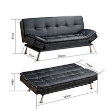 chinese style living room furniture house pu leather hotel sofa bed