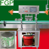 Automatic heat cutting sealing machne for aromatic ball PE jar in China