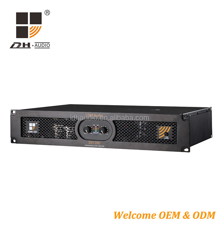 Guangzhou LDH 2 Channels pro audio sound digital switch power amplifier for sale