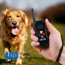 Rechargeable pet training shock collar most popular PTS018 electronic pet training collar