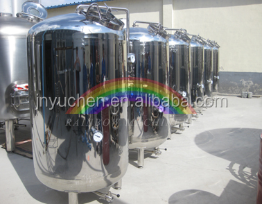 1000L beer maturation tank for micro brewery machine