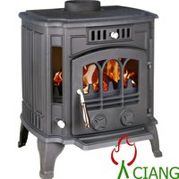 best seller in winter enamel finished cast iron solid fuel stove EN13240
