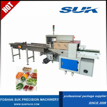 Low Price Full Automatic Pillow Type Packing Wrapping Machine Price