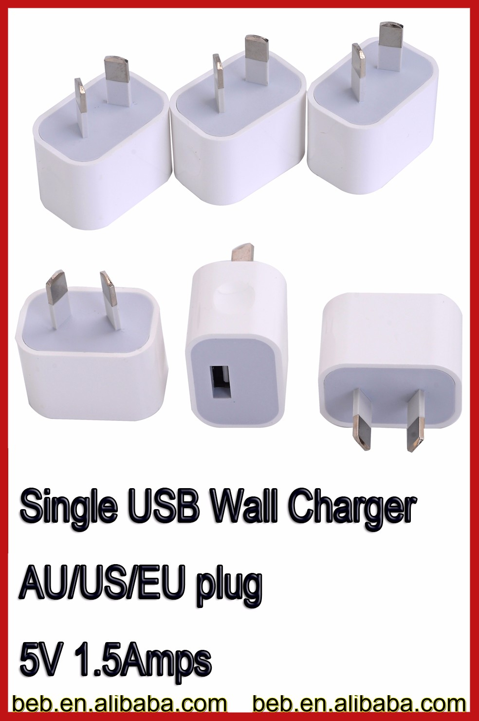 2016 hot selling usb wall charger, for iphone 6s iphone 7 wall charger