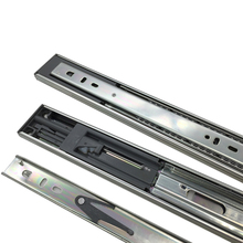Hot sell soft close tool box drawer slides,ball bearing gas spring drawer slides