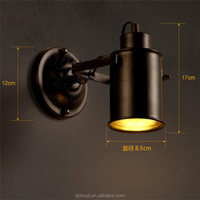 Fancy American Country Loft Style Industrial Vintage Indoor LED Wall lamp light