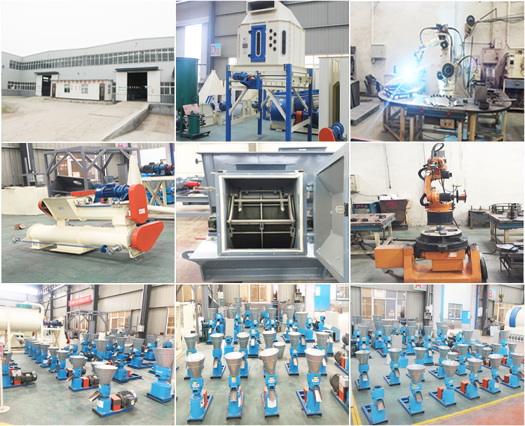 animal feed machinery/poultry feed manufacturing machine/flat die pellet mill