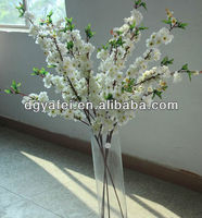 Japanese trees and plants white cherry blossom artificial flower