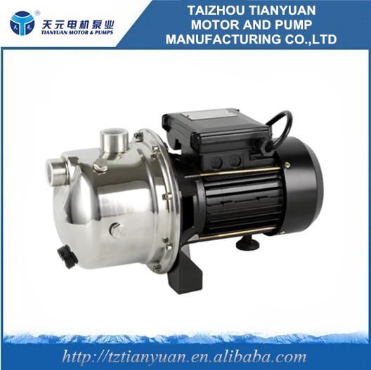 SJET series jet engine self priming clean water pump machine price