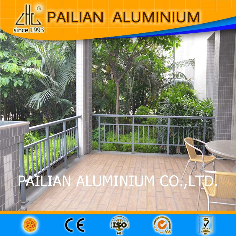 6063 T5 aluminium curtain <strong>rail</strong> for vertical blinds,for balcony railing