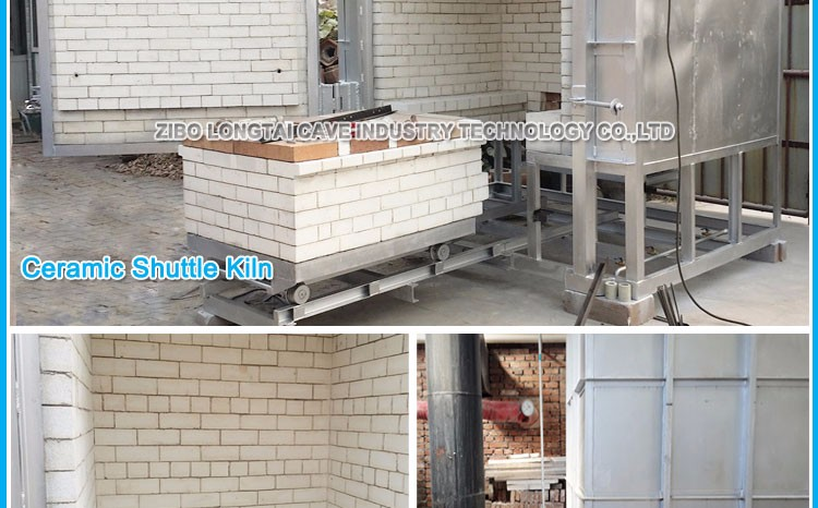 Gas Small Shuttle Ceramic Pottery Kiln