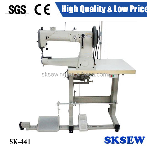 Heavy duty 441 Cylinder bed compound feed lockstitch sewing machine