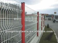 Bestselling and utility XM weld steel wire mesh concrete fence/electric galvanised then powder coating(factory hot sales)