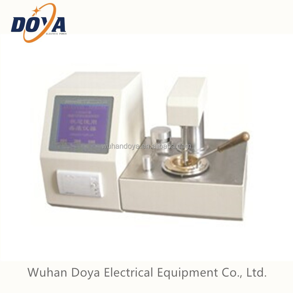 Transformer Oil Flash Point Tester