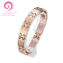 High Quality 316 stainless steel jewelry Magnet Germanium Health Bracelet