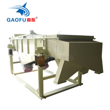 sand grading dewatering linear vibrating screen machine