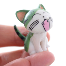 Manufacture plastic small cat action figure toy production