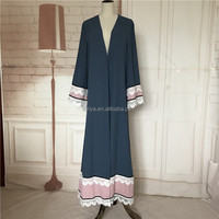 New fashion abaya dubai modest abaya muslim clothing women arabic abaya dress