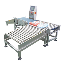 Digital weight checker,conveyor belt checkweigher,food weigher,Automatic Check Weigher (Germany HBM load cell ) JZ-W25kg